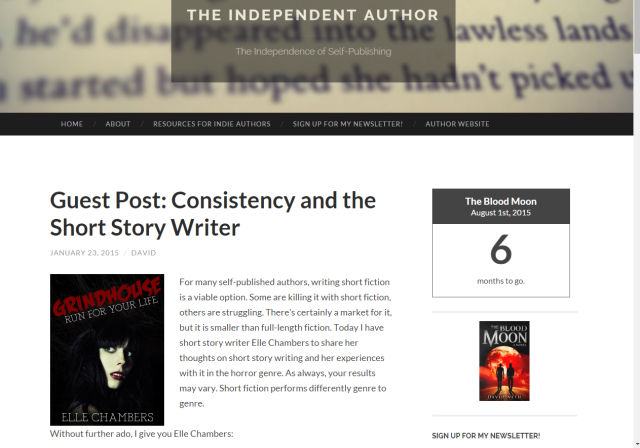 Guest Post on The Independent Author